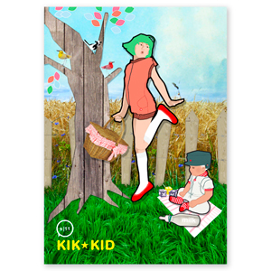 illustratie kik-kid