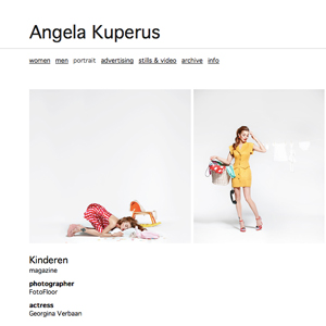 website angela kuperus