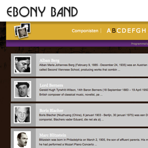 ebony band